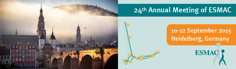24th Annual ESMAC Meeting 2015 from 07 - 12 September 2015 in Heidelberg, Germany